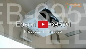 Proyectores Interactivo tactil Epson EB-695Wi