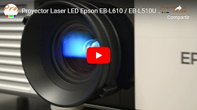 Proyector 6000 lúmens Full HD Laser LED